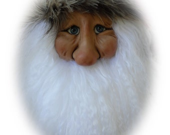 Santa Ornament - EW, A Lil Darlin Original