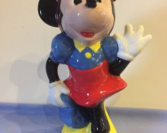 Glazed Minnie Mouse Statue