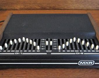 Vintage MXR Model 114 Stereo Equalizer 10 Band 2 Channel