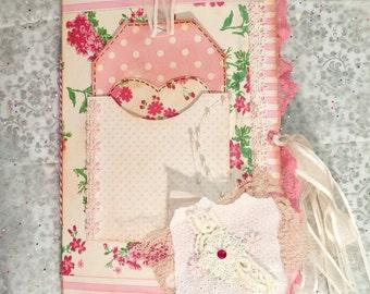 Custom junk journal vintage, diary journal, travel journal, paper journal, writing journal, junk journal, gift for her, handmade