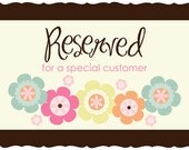 Maureen G. Reserved Listing