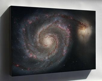 Canvas 16x24; Whirlpool Galaxy (Spiral Galaxy M51