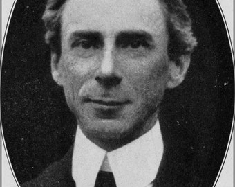 16x24 Poster; Bertrand Russell On Denoting