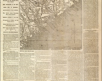 16x24 Poster; Nyh 1862 Movement Near Charleston, South Carolina