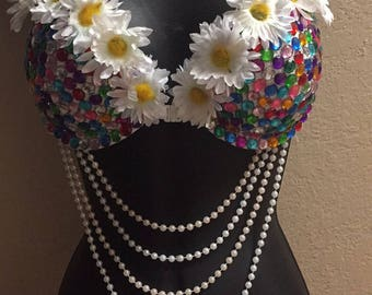 EDC rave bra/ rave outfit
