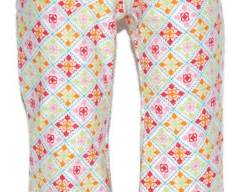 """Patterned Flannel Pajama Bottoms - Doll Clothes fits 18"""" American Girl Dolls"""