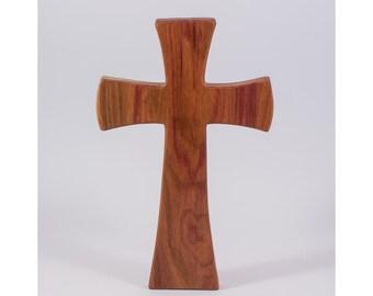 Wooden wall cross, wall decor