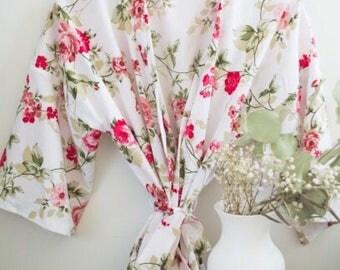 Floral Kimono Robe