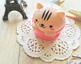 Cute Kawaii BEAR Pencil Sharpener/IPC/Pink