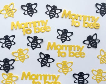 Bumble Bee Baby Shower Confetti