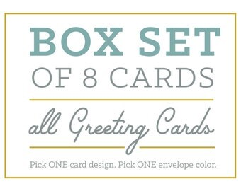 Box Set of 8 Greeting Cards