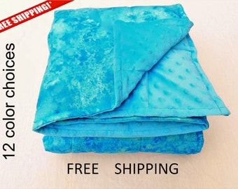 weighted blanket - weighted blankets - FREE SHIPPING