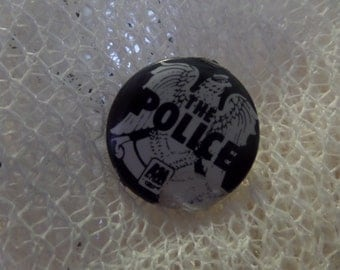 Vintage Classic Rock The Police Tour Enamel buttons or pins