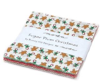 Sugar Plum Christmas charms