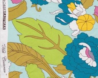 Hot Couturier for Robert Kaufman - Blue Floral - Cotton Fabric