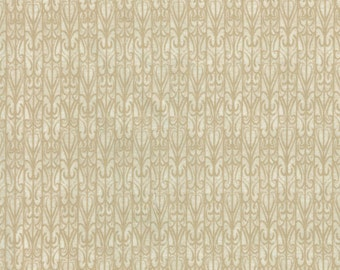 Scrolly Gate Tan- Legacy Studio - 100% Cotton Quilting Fabric