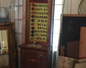 Vintage Love Tester Arcade Game