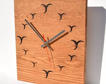 Handcrafted Contemporary Wall Clock