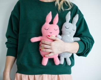 BOBBO the Bunny PDF knitting Pattern, in Norwegian.