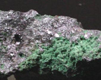Malachite on Cuprite, Bisbee, Arizona  Mineral Specimen for Sale