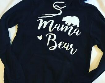 Mama Bear Hoodie\\Mama Bear sweatshirt\\Mama Bear shirt
