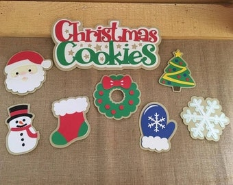Christmas Cookies Die Cut Set