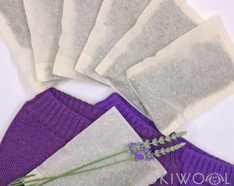 organic lavender sachets | natural moth repellant | moth away bags | drawer freshener
