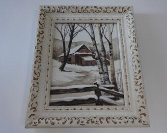 Art, Original Art, Framed Art, Watercolor, Watercolor Painting, Painting, Landscape, Landscape Art, Landscape Painting, Wall Art, Wall Decor