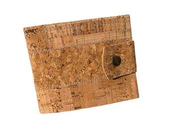 Cork Wallet for Men, Mens Vegan Wallet, Wallet for Men, Eco-Friendly Wallet, Mens Slim Wallet, Perfect Gift for Men