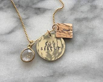 Soul sister necklace