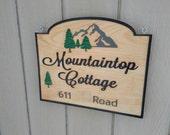 Wooden Sign - Engraved Wood Sign
