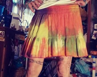 Sunset Mini Skirt