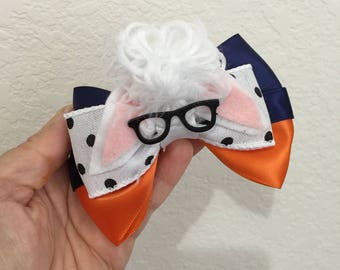 Zootopia Bellwether inspired hairbow