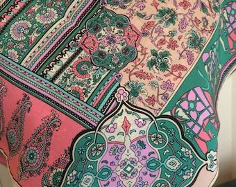 Vintage silk scarf Guy Laroche