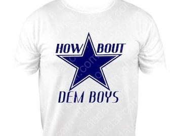 Custom Dallas Cowboys Vinyl Sports Design 2