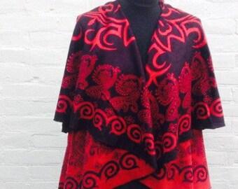 Convertible cashmere stole