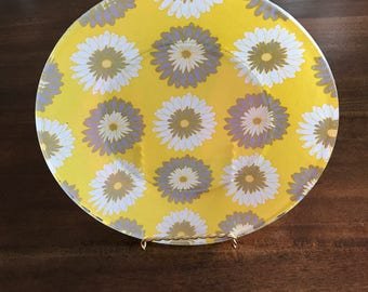 Summer Glass Plates