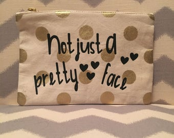 Cosmetic Bag - Make Up Bag - Clutch
