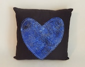 Galaxy Heart Accent Pillow