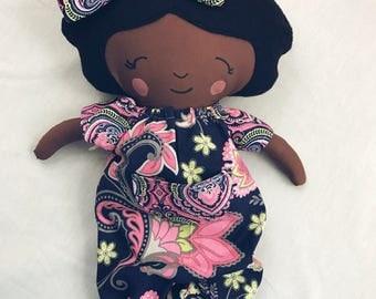Sweet Handmade Cotton Doll