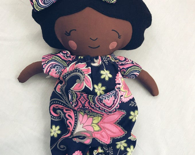 Featured listing image: Sweet Handmade Cotton Doll