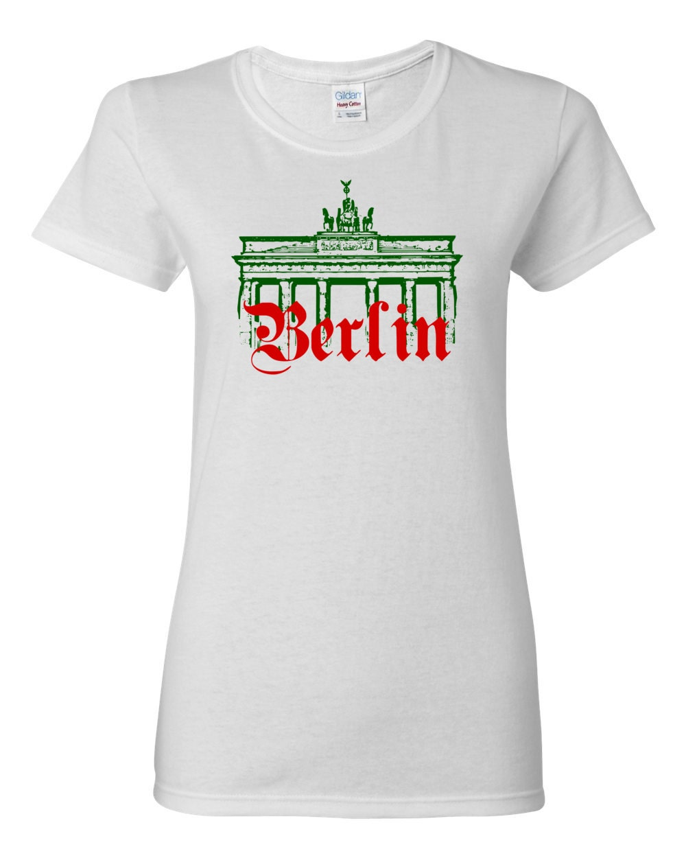 Brandenburg Gate Berlin Germany Womens History T-shirt