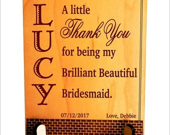 Custom Bridesmaid Gifts,Thank you Gift to Bridesmaids ,Personalized Wedding Favors,Bridal Entourage Gifts ,Wedding Appreciation Gifts,PWP011