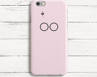 Harry Potter Scar and Glasses Phone Case for iPhone 7, iPhone 7 plus, iPhone 6, Samsung S7, Samsung S7 Edge