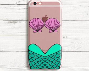 Mermaid Shell iPhone  TPU Case