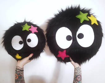 Studio Ghibli - Soot Sprite - Plush Pillow Toy - My Neighbor Totoro