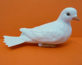 Homco, Turtle Dove, Figurine, Made in Maylaysia, #8856