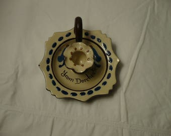 Torquay Motto Ware Candle Holder