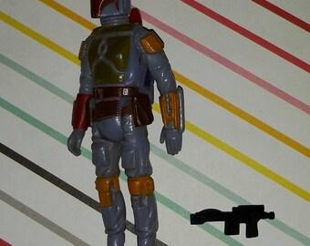 Vintage 1980s Kenner Star Wars Boba Fett Figure Complete
