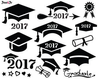 Graduation SVG ,Graduation Cap SVG,Graduation Svg Cut file,Graduation SVG Silhouette ,2017 Graduation Svg,Graduate svg,Graduation Hat svg .